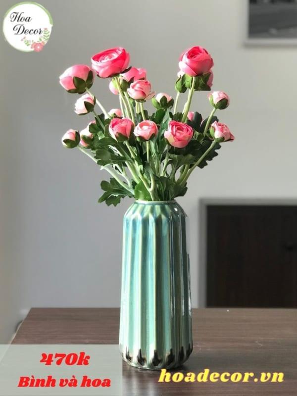 Bình Hoa Giả Trang Trí