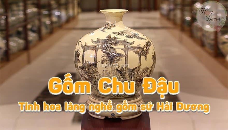 Gốm Chu đậu Hải Dương